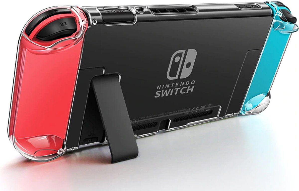 - Crystal Shell Transparante Case - PC Hoesje voor Nintendo Switch