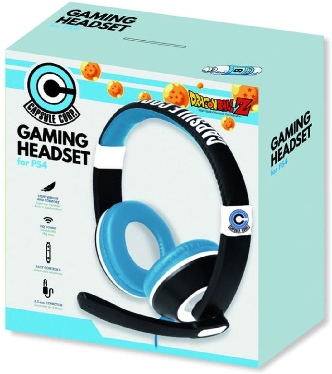 Dragon Ball Z - Stereo Headset - PS4 - XBOX One - PC
