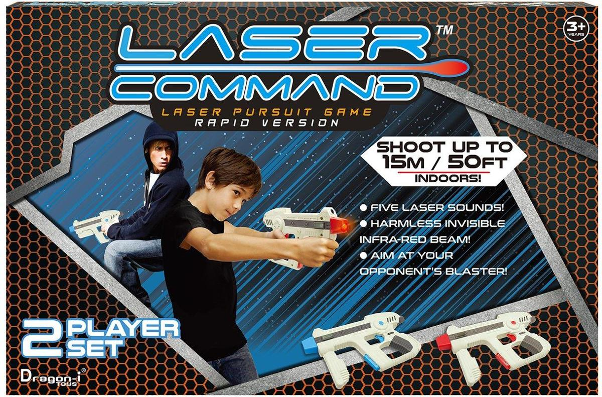 Laser Command Tactical Assault Set - Speelgoedpistool