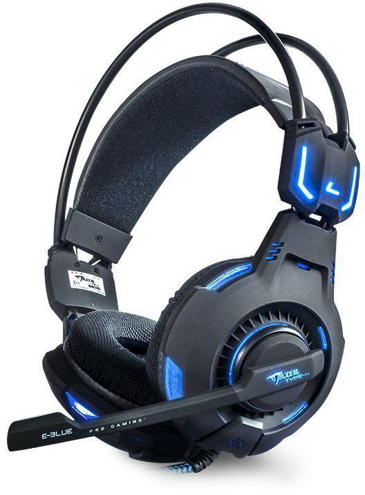 E-blue Mazer HS 909 Gaming Headset PC - Zwart