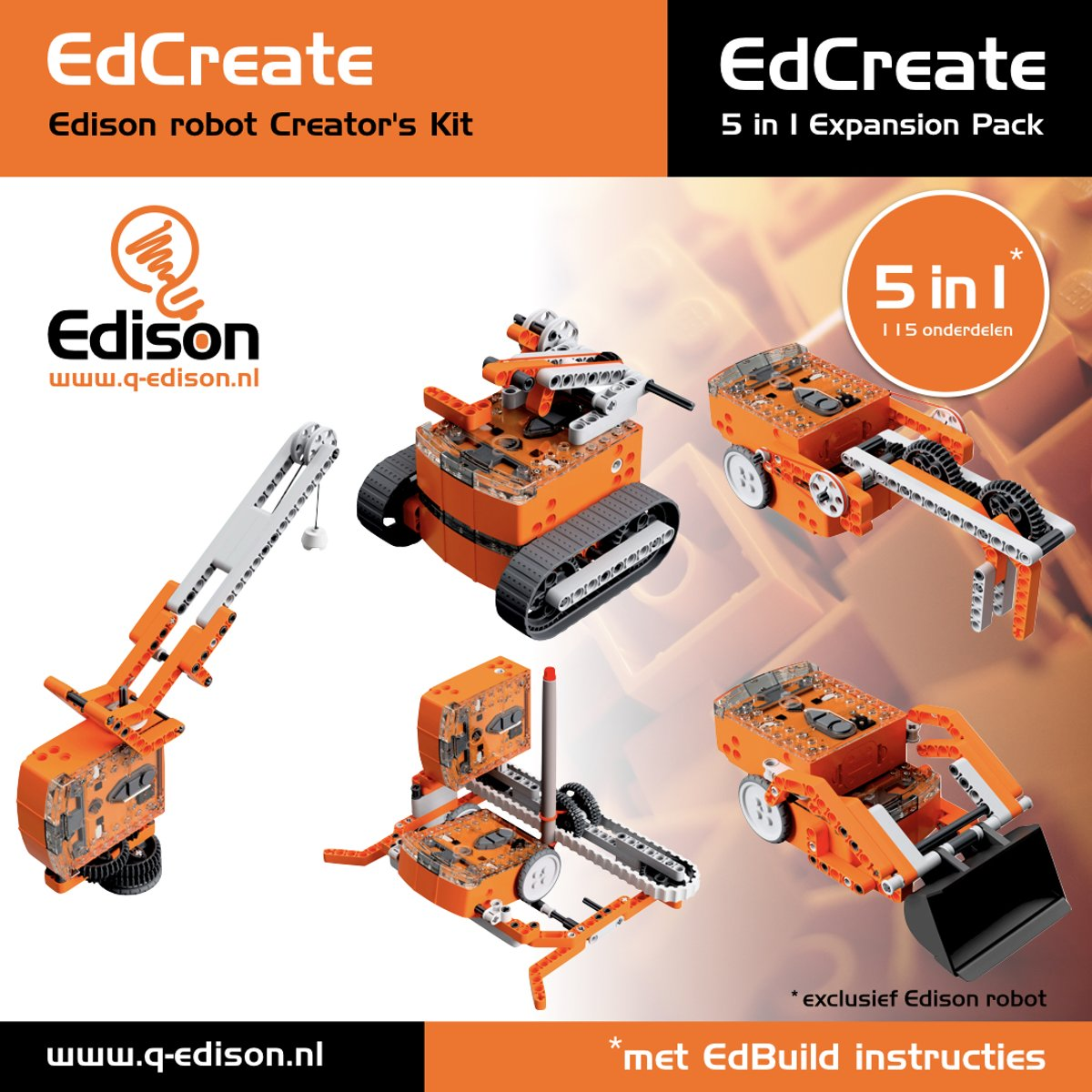 EdCreate Edison robot Creators Kit