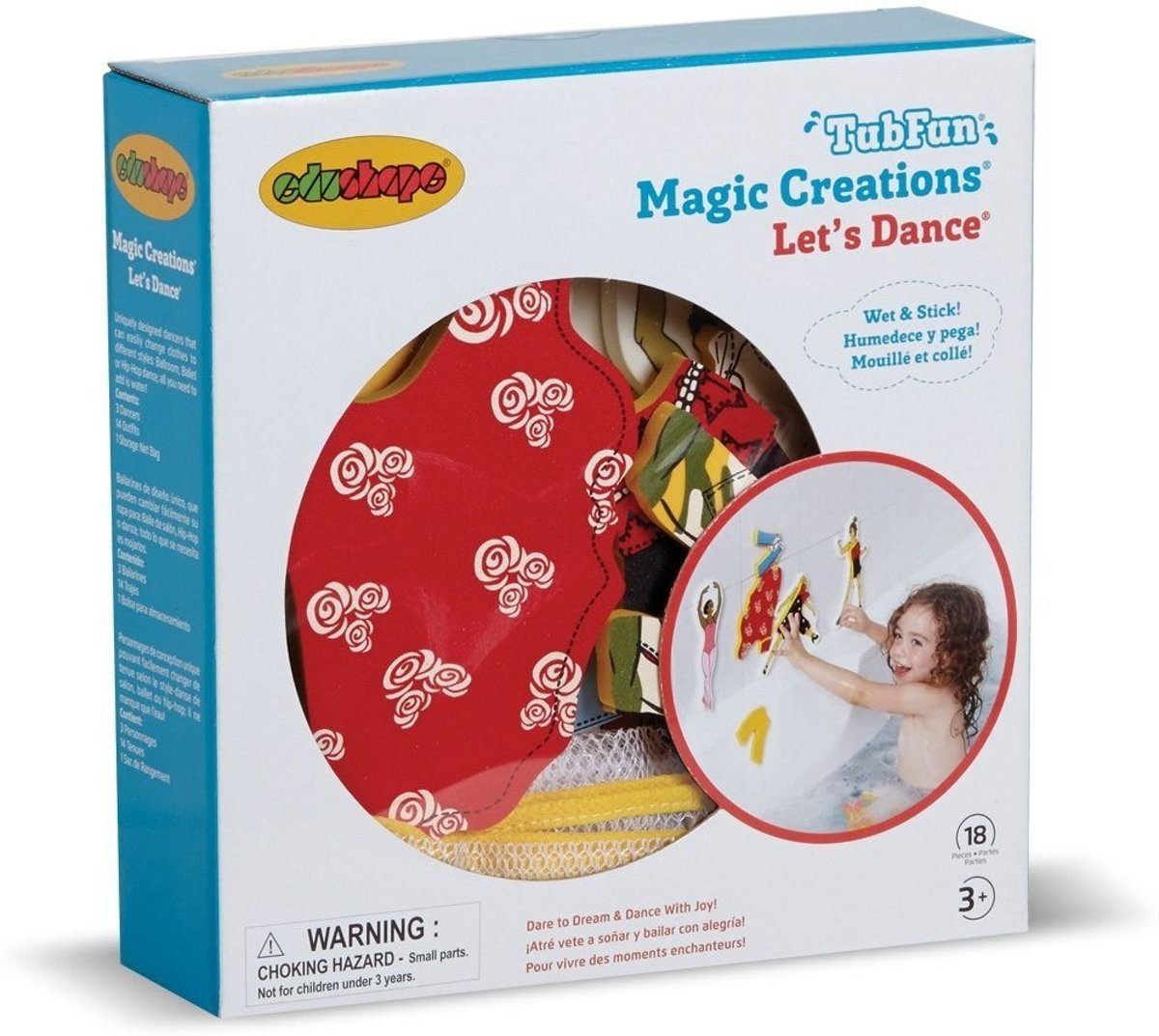 MAGIC CREATIONS - Lets Dance -18 pcs
