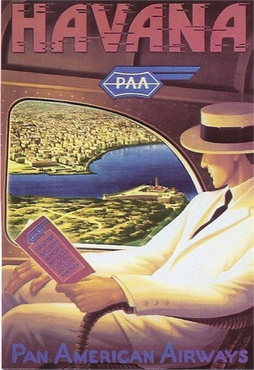 Educa - Havanna Pan American airways