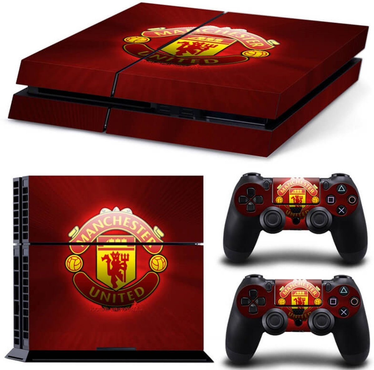 Manchester United design - PS4 skin