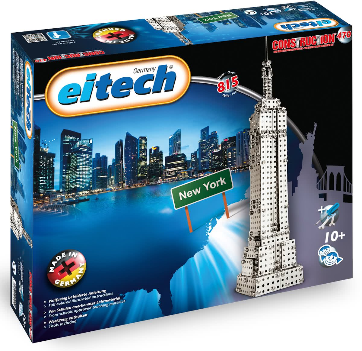 Eitech Constructie - Bouwdoos - Empire State Building in New York