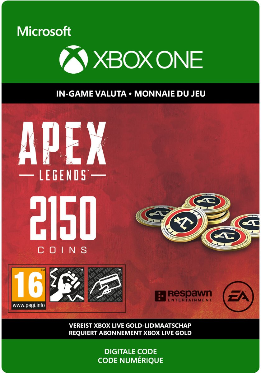 APEX Legends: 2.000 (+ 150 Bonus) Coins - Xbox One download