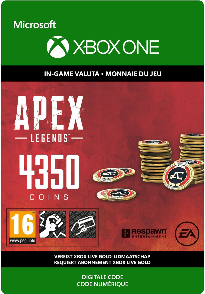 APEX Legends: 4.000 (+ 350 Bonus) Coins - Xbox One download