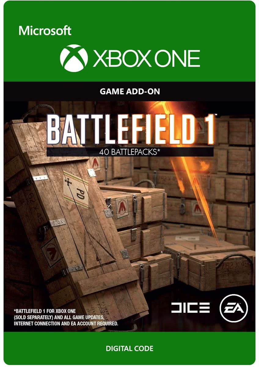 Battlefield 1 - 40 Battlepacks - Xbox One