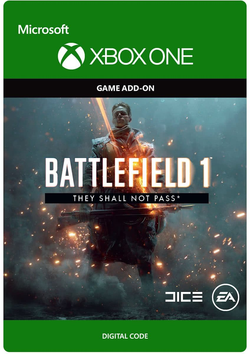 Battlefield 1 - They Shall Not Pass - Add-on - Xbox One