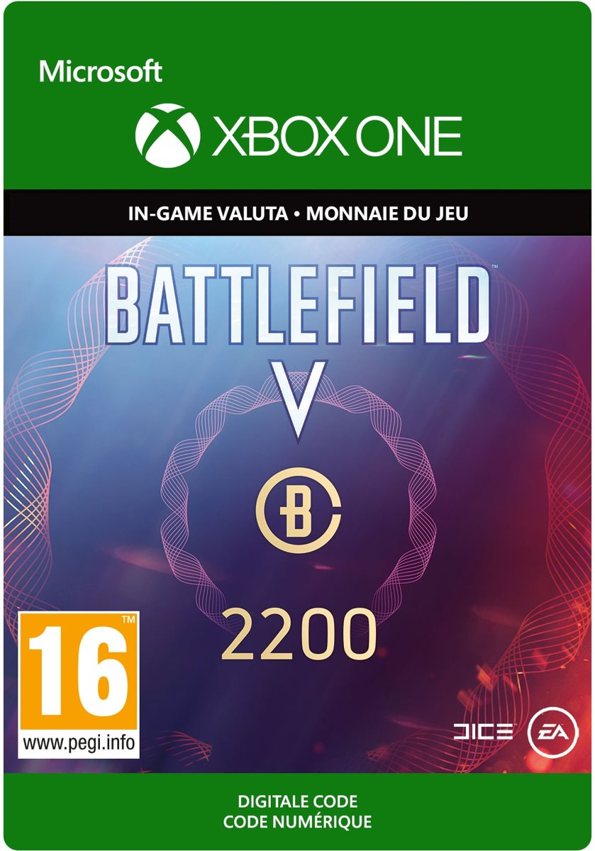 Battlefield V: Battlefield Currency 2.200 - Xbox One Download