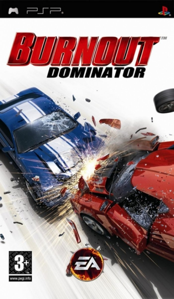 Burnout Dominator /PSP