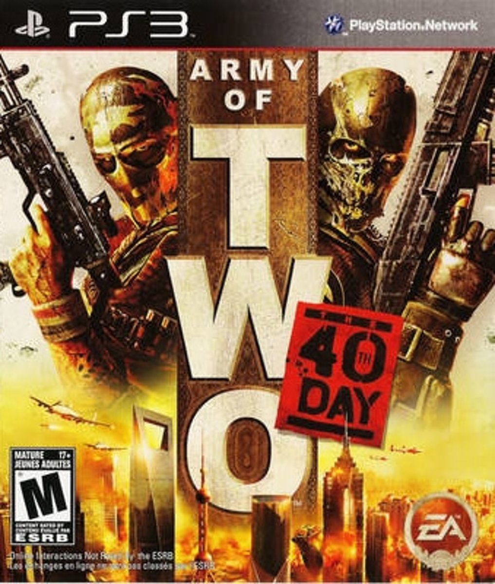 Army of Two: The 40th Day PlayStation 3 video-game