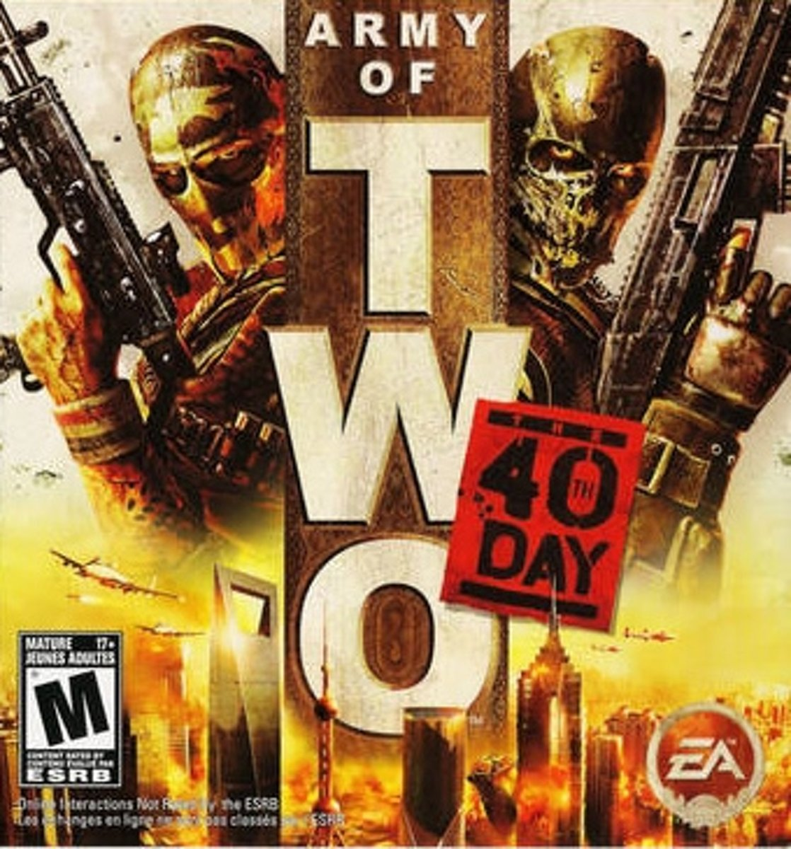 Army of Two: The 40th Day PlayStation Portable (PSP) video-game
