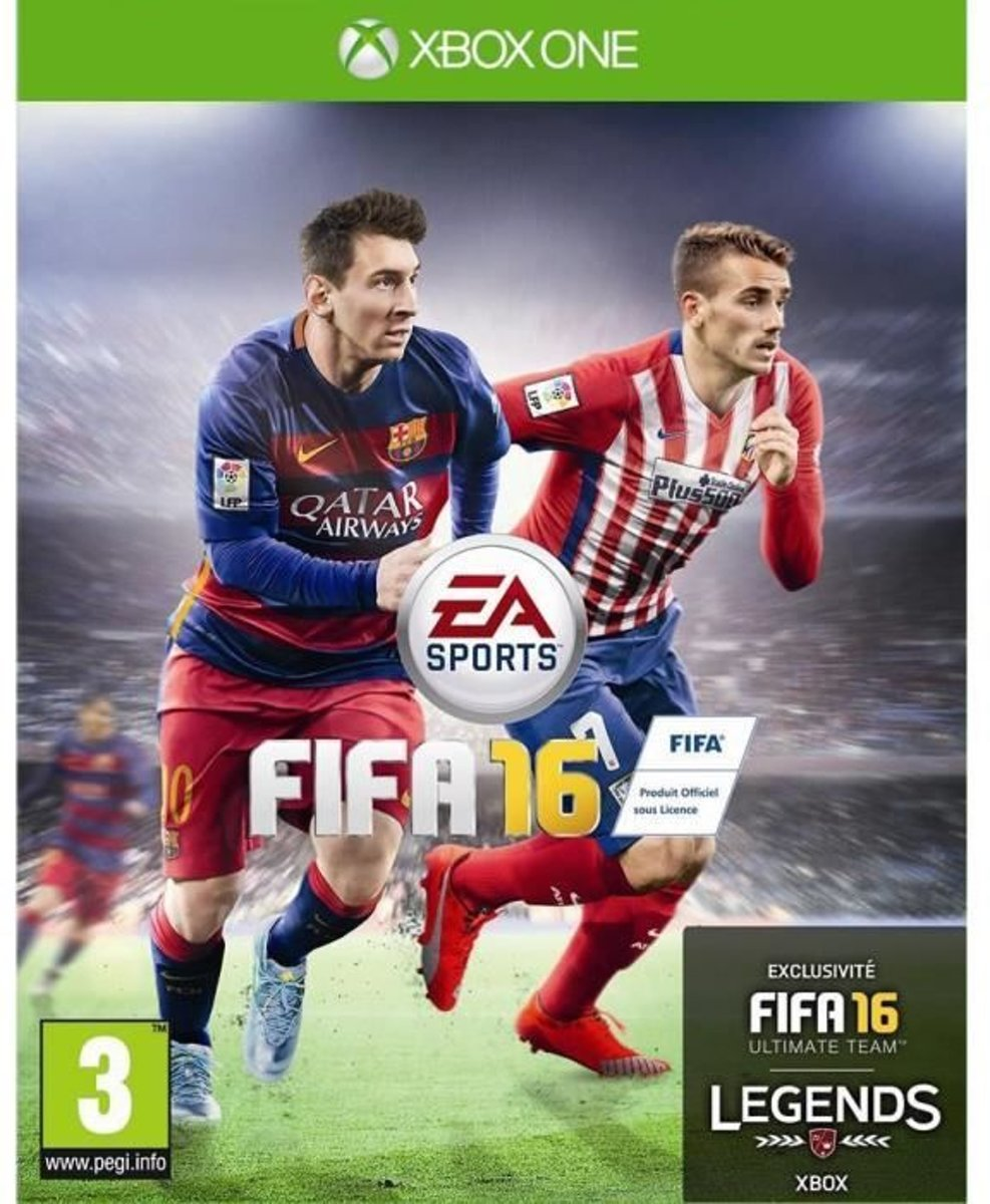 Electronic Arts FIFA 16, Xbox One Basis Frans video-game