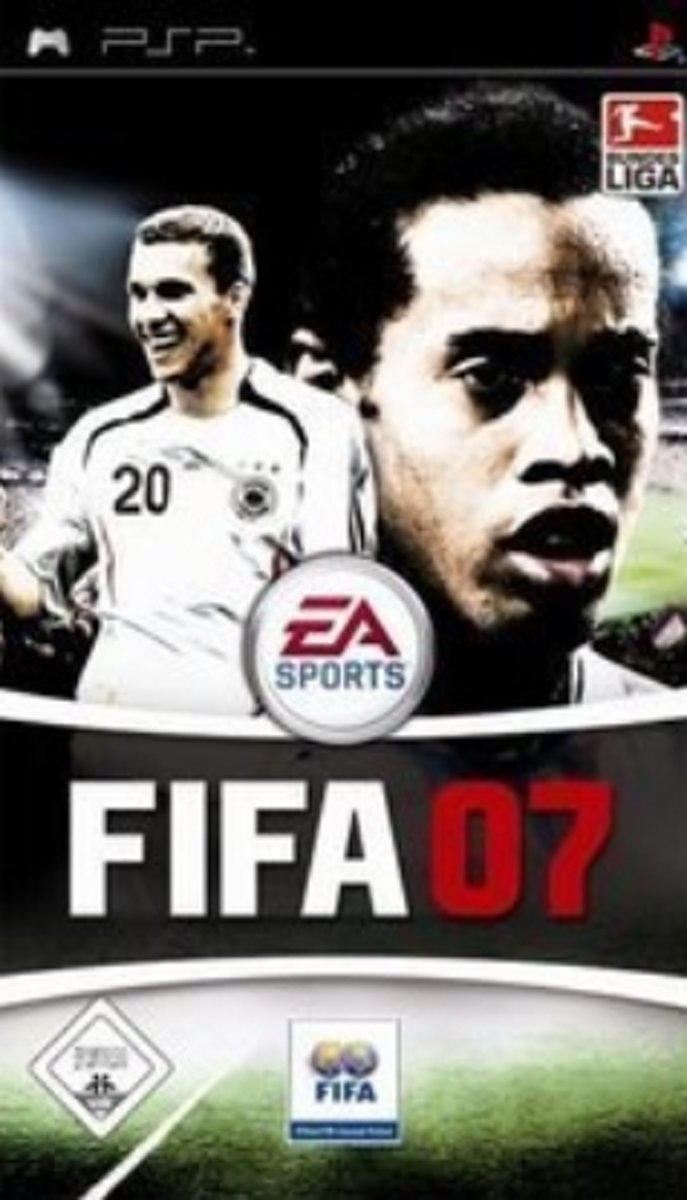 FIFA 2007, PSP PlayStation Portable (PSP) video-game