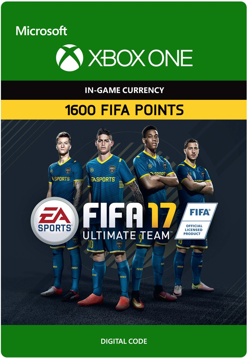 FIFA 17 Ultimate Team 1600 FIFA Points (Digitale Code)