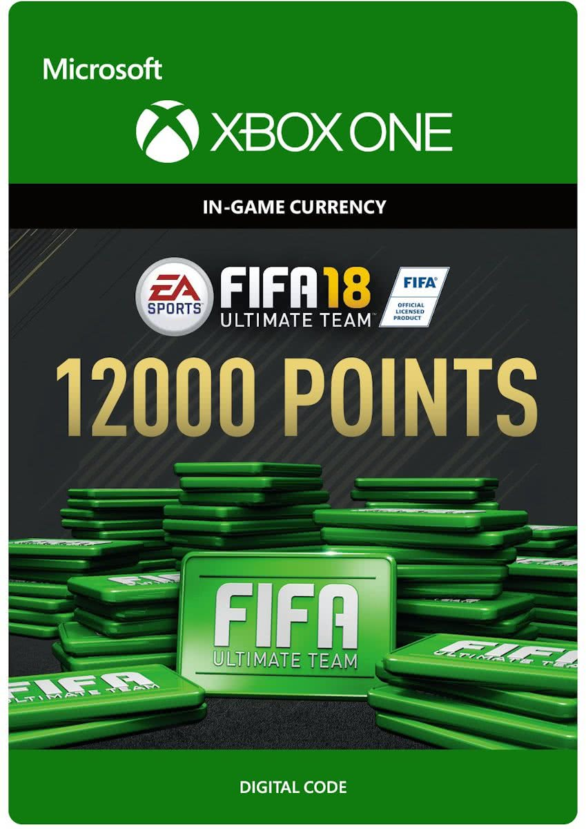 FIFA 18: Ultimate Team -  12.000 Points - Xbox One