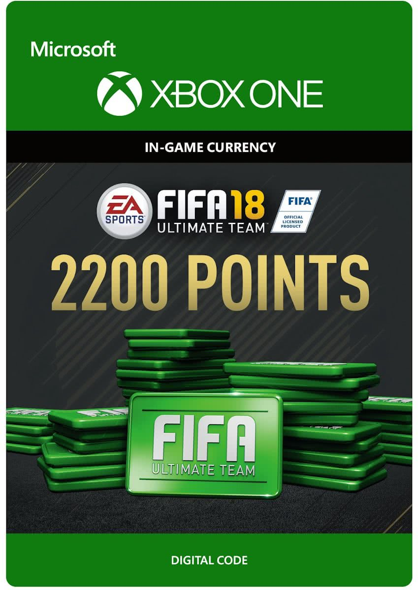 FIFA 18: Ultimate Team -  2.200 Points - Xbox One