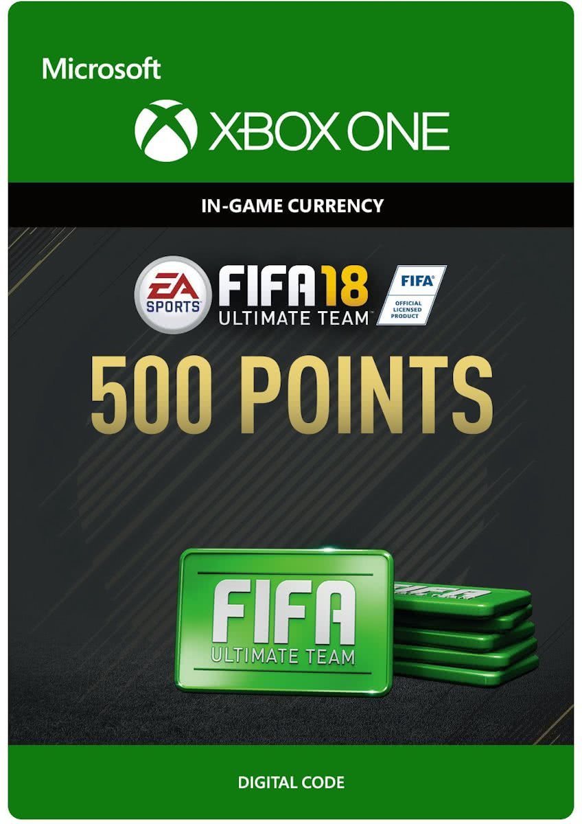 FIFA 18: Ultimate Team -  500 Points - Xbox One
