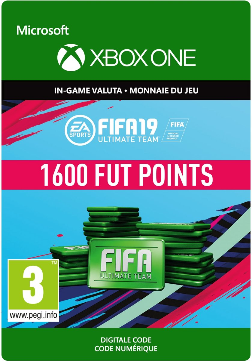 FIFA 19: Ultimate Team -  1.600 Points - Xbox One