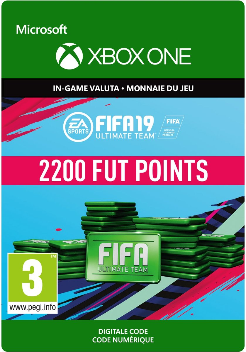 FIFA 19: Ultimate Team -  2.200 Points - Xbox One
