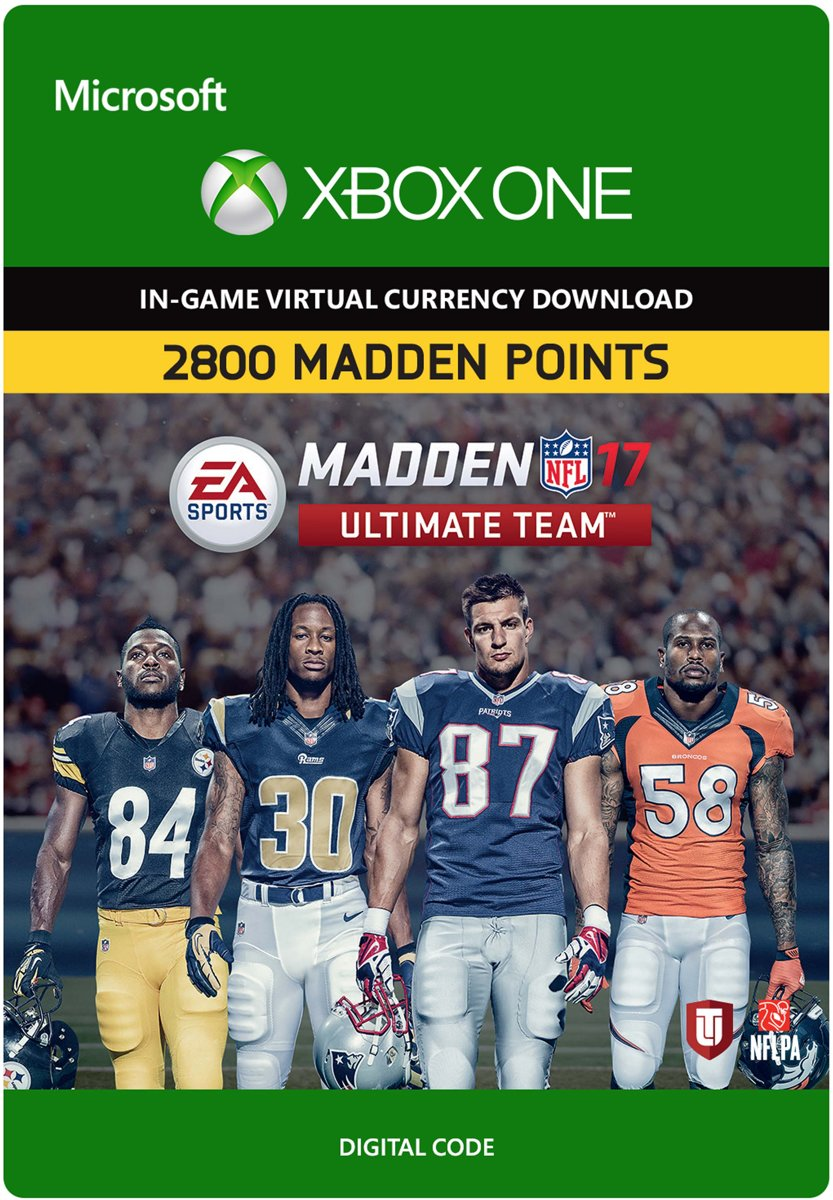 Madden NFL 17: 2800 Madden Points Xbox One (Digitale Code)