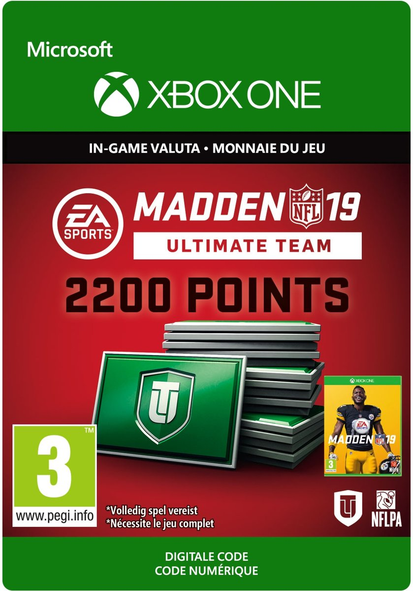 Madden NFL 19: 2.200 Madden Ultimate Team Punten  - Xbox One