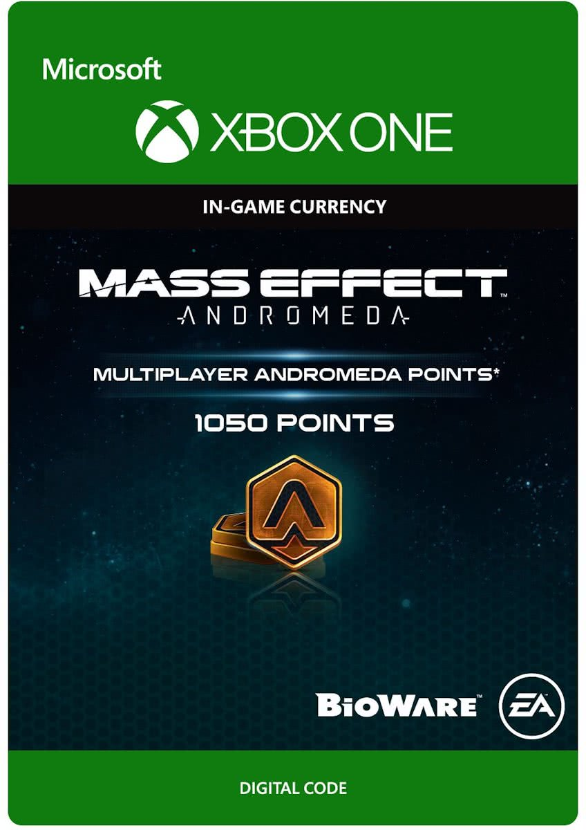 Mass Effect Andromeda - 1050 Multiplayer Andromeda Points - Xbox One