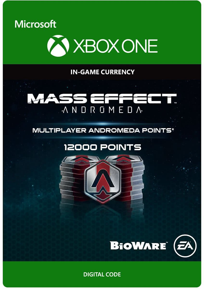 Mass Effect Andromeda - 12000 Multiplayer Andromeda Points - Xbox One