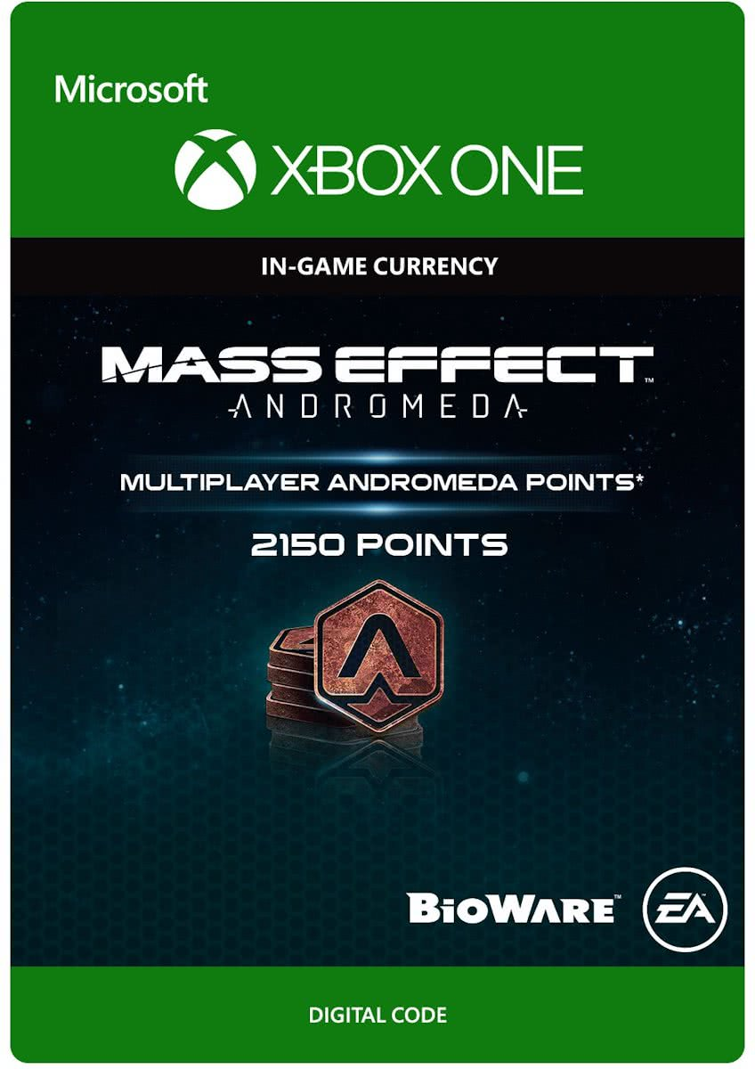 Mass Effect Andromeda - 2150 Multiplayer Andromeda Points - Xbox One