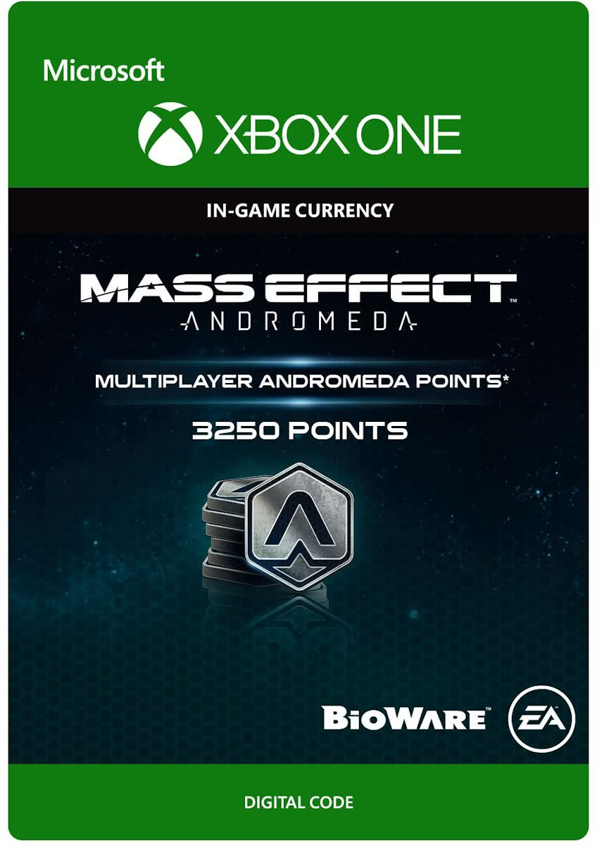 Mass Effect Andromeda - 3250 Multiplayer Andromeda Points - Xbox One