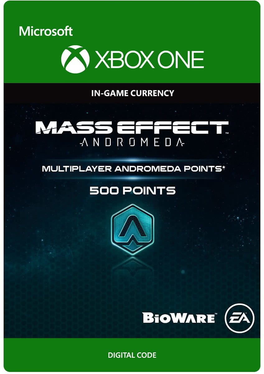 Mass Effect Andromeda - 500 Multiplayer Andromeda Points - Xbox One