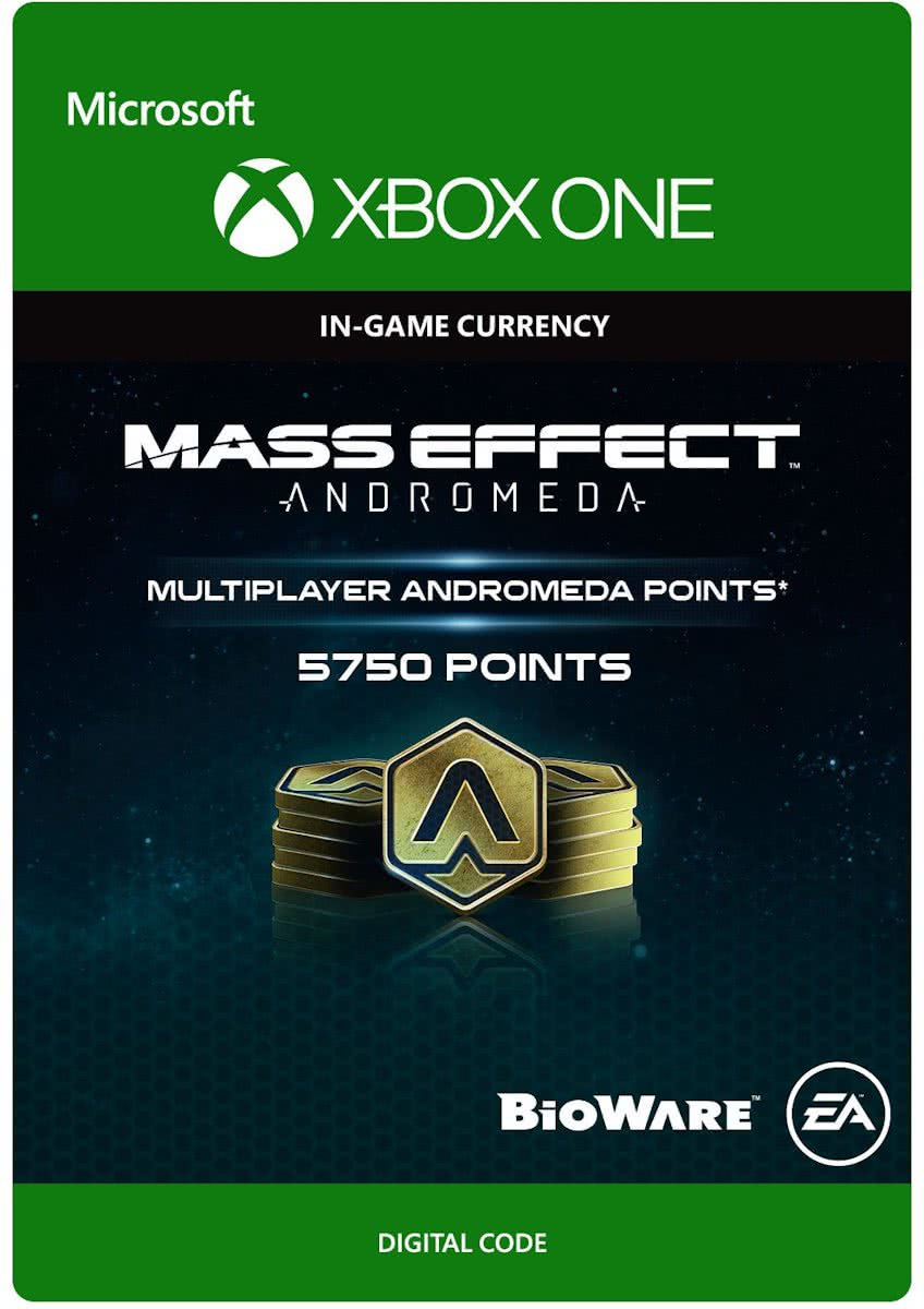 Mass Effect Andromeda - 5750 Multiplayer Andromeda Points - Xbox One