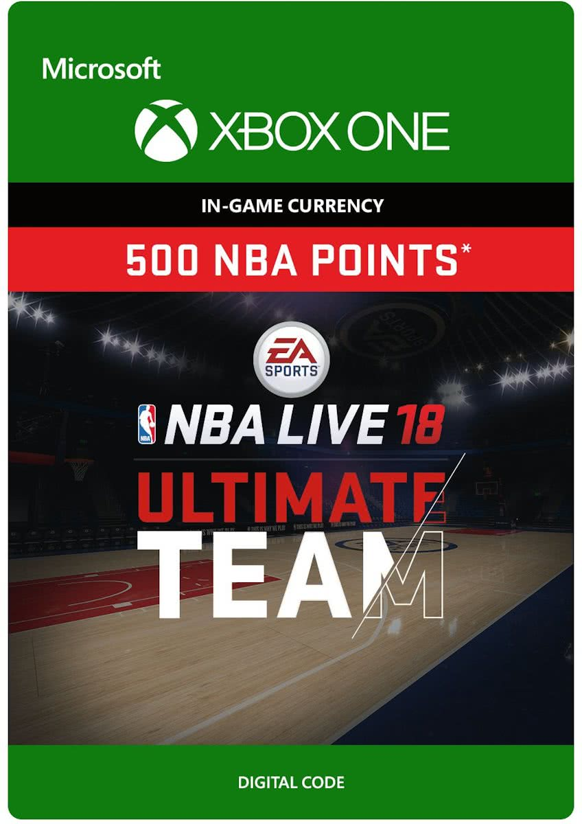 NBA LIVE 18: Ultimate Team - 500 Points - Xbox One