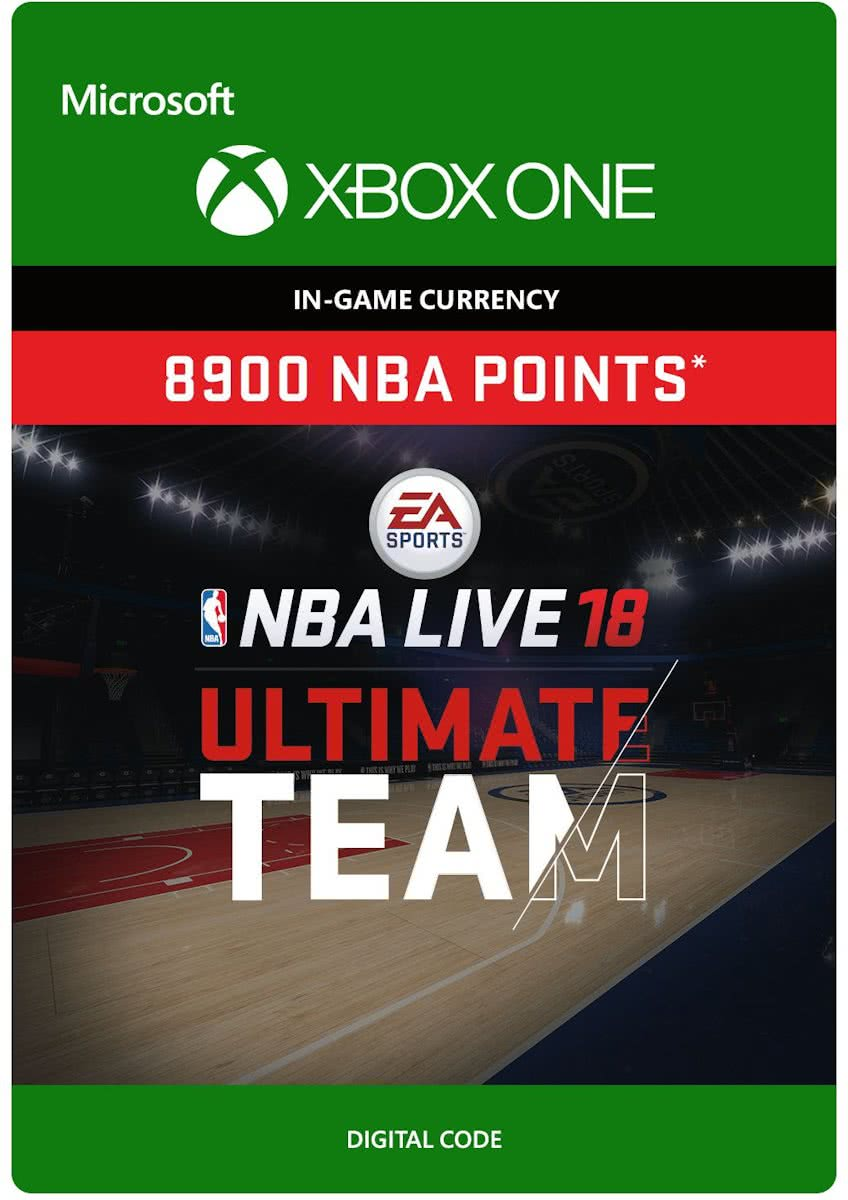 NBA LIVE 18: Ultimate Team - 8.900 Points - Xbox One