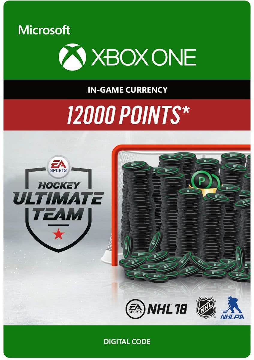 NHL 18: Ultimate Team  - 12.000 Points -  Xbox One