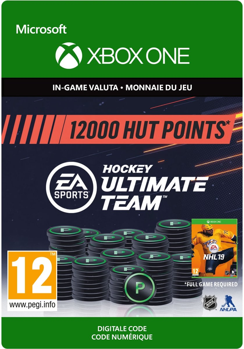 NHL 19 Ultimate Team NHL Points 12.000 - Xbox One