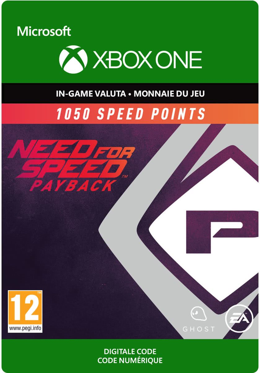 Need for Speed: Payback - 1050 Speed Points - Xbox One