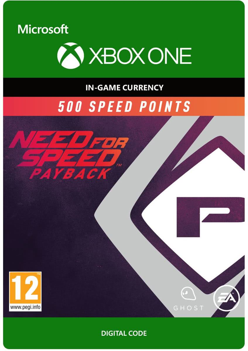 Need for Speed: Payback - 500 Speed Points - Xbox One