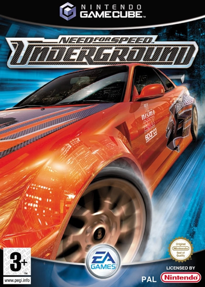 Need for speed underground -gamecube
