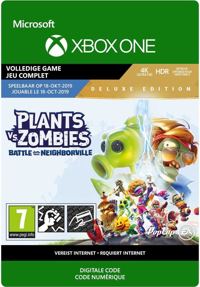 Plants vs. Zombies: Battle for Neighborville: Deluxe Edition - Xbox One download