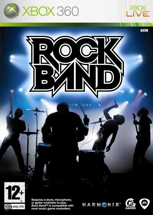 Rock Band (zonder instrumenten)