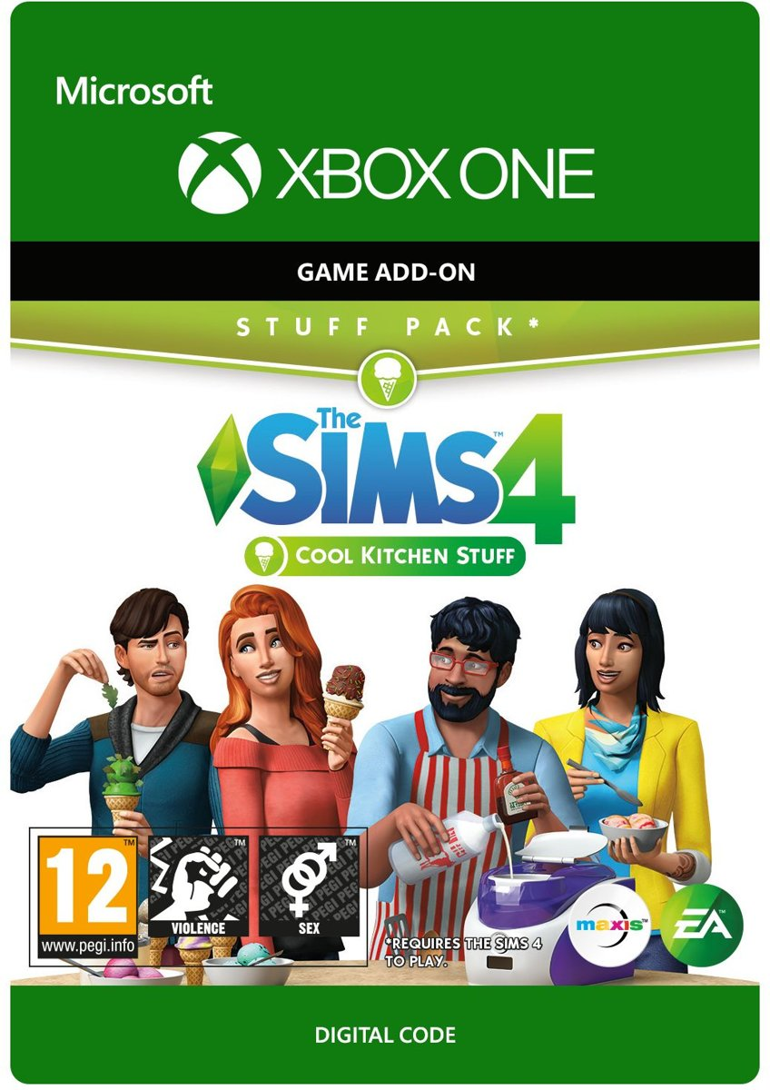 The Sims 4: Cool Kitchen Stuff - Add-on - Xbox One
