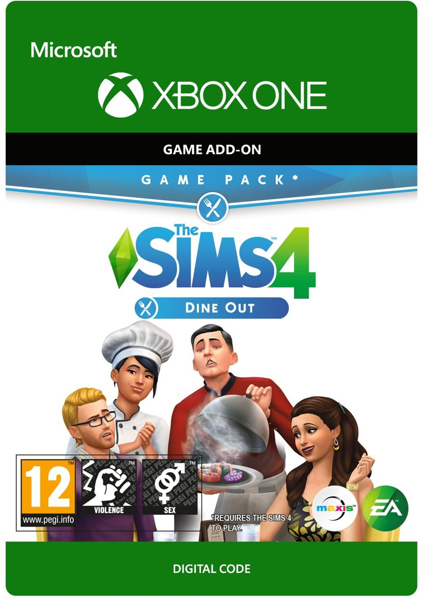 The Sims 4: Dine Out - Add-on - Xbox One