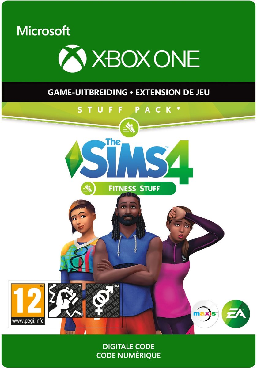 The Sims 4: Fitness Stuff - Add-on - Xbox One Download