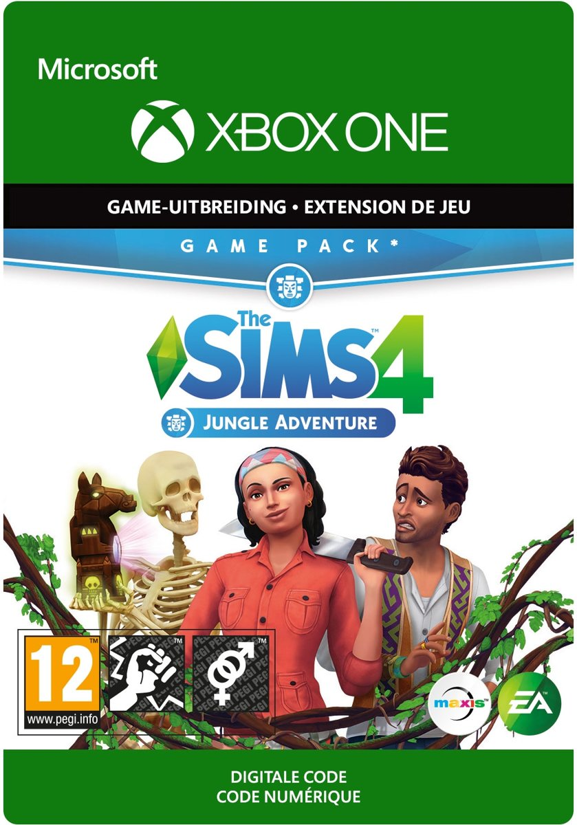 The Sims 4: Jungle Adventure - Add-on - Xbox One Download