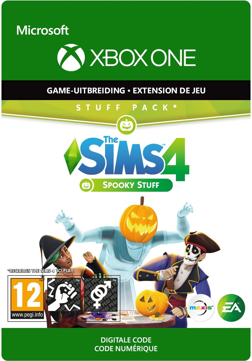 The Sims 4: Spooky stuff - Add-on - Xbox One