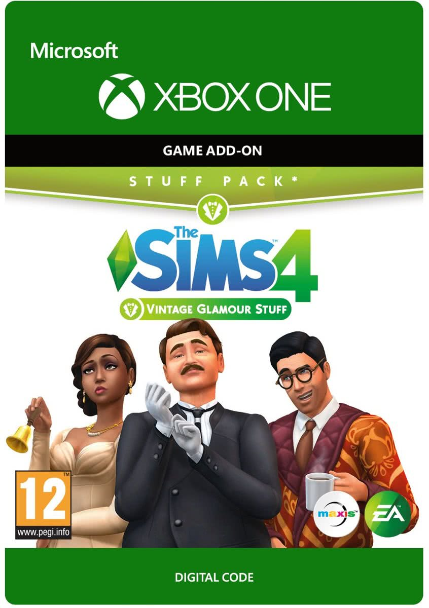 The Sims 4: Vintage Glamour Stuff - Add-On - Xbox One