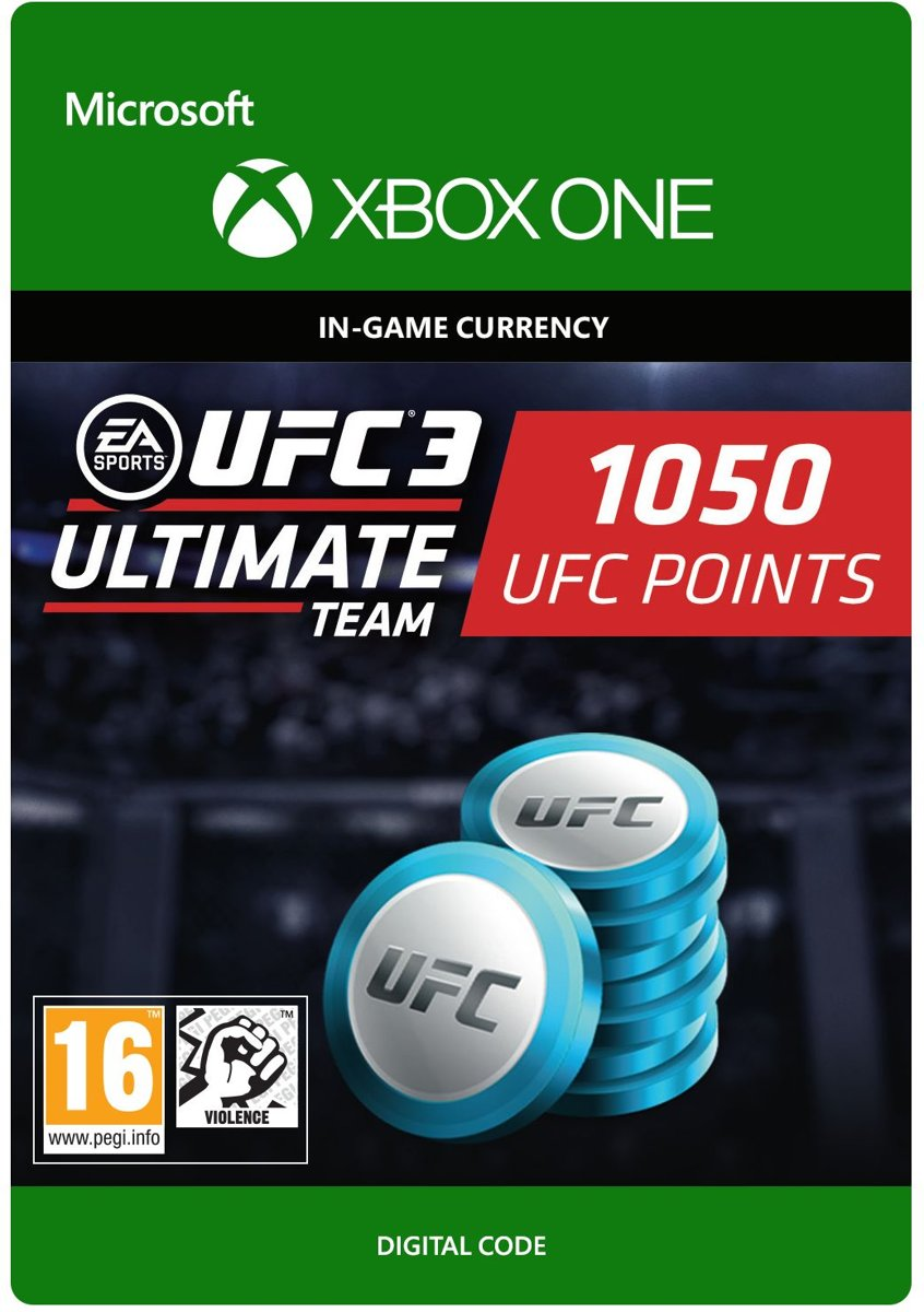 UFC 3 - 1.050 UFC Points - Xbox One