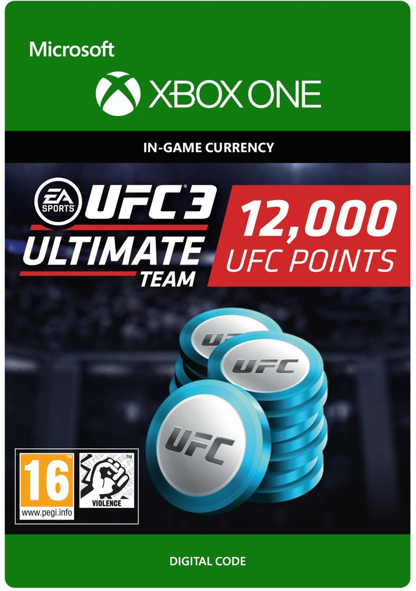 UFC 3 - 12.000 UFC Points - Xbox One